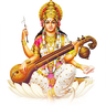 Saraswati-PNG-HD - Saraswati PNG