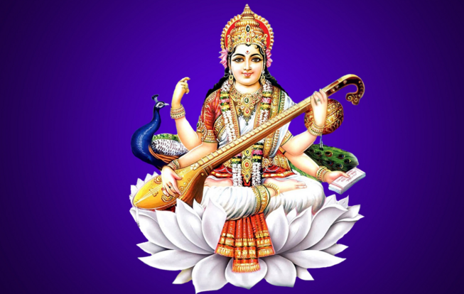 Saraswati Puja HD Images - Saraswati PNG