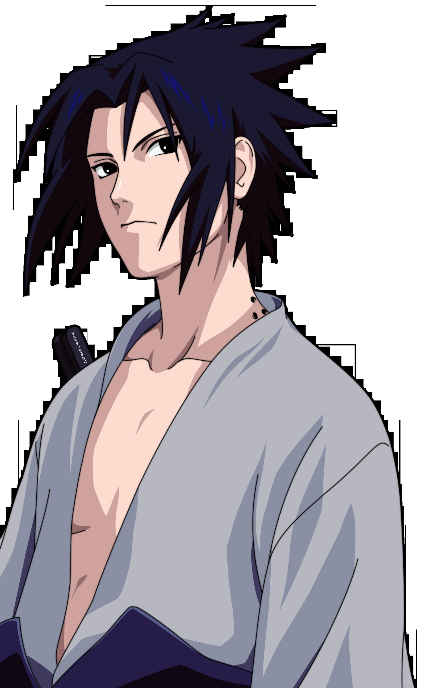Uchiha Sasuke PNG Transparent