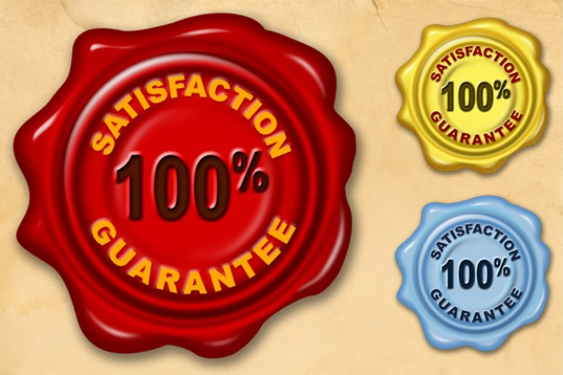 Satisfaction guarantee wax se