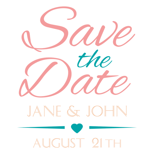 Save The Date PNG HD - 125441