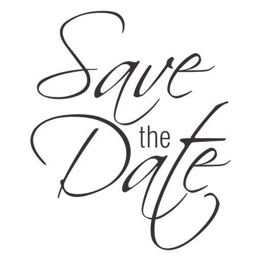 Save The Date PNG HD - 125430