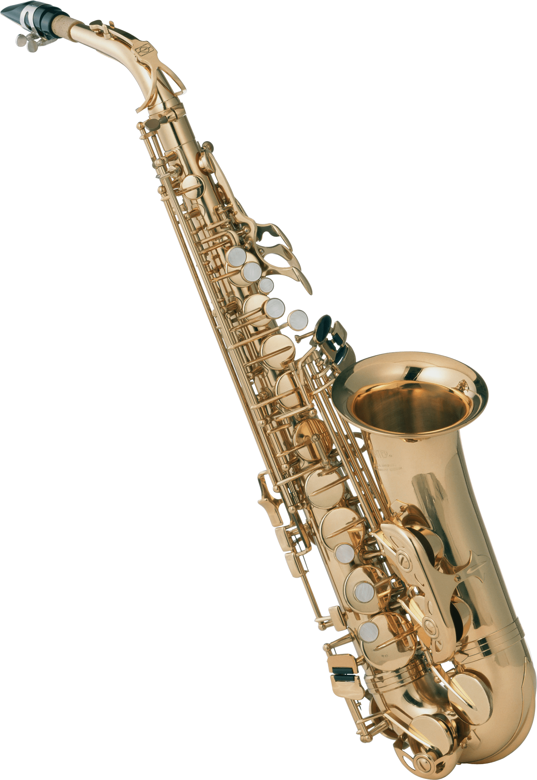 Saxophone Front - Saxophone HD PNG