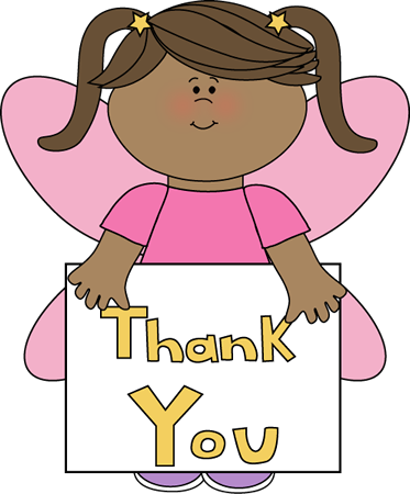 little girl thank clipart - Say Please And Thank You PNG