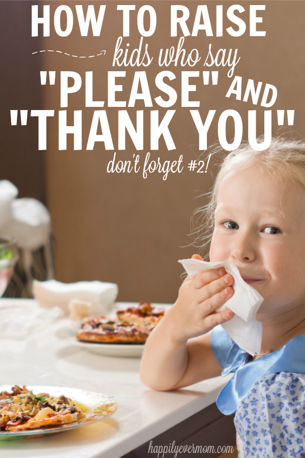 Tips to raise polite kids - Say Please And Thank You PNG