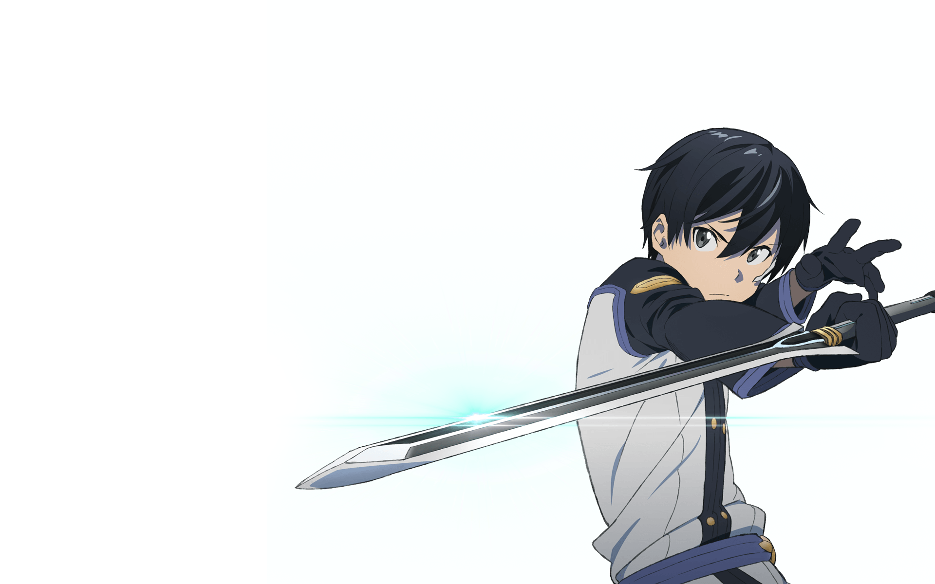 Anime - Sword Art Online Movie: Ordinal Scale Kazuto Kirigaya Kirito (Sword  Art Online - Scale HD PNG