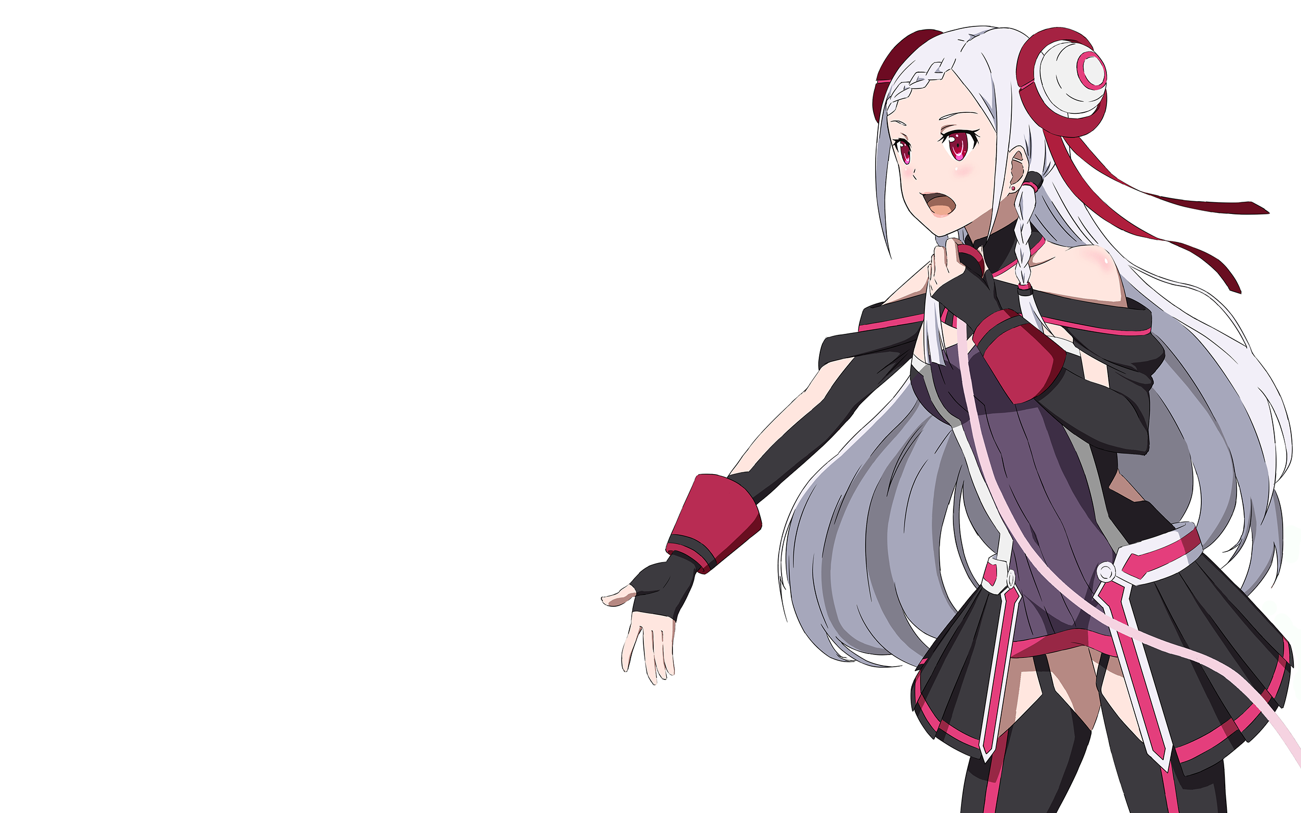 Anime - Sword Art Online Movie: Ordinal Scale Yuna (Sword Art Online) Sword - Scale HD PNG