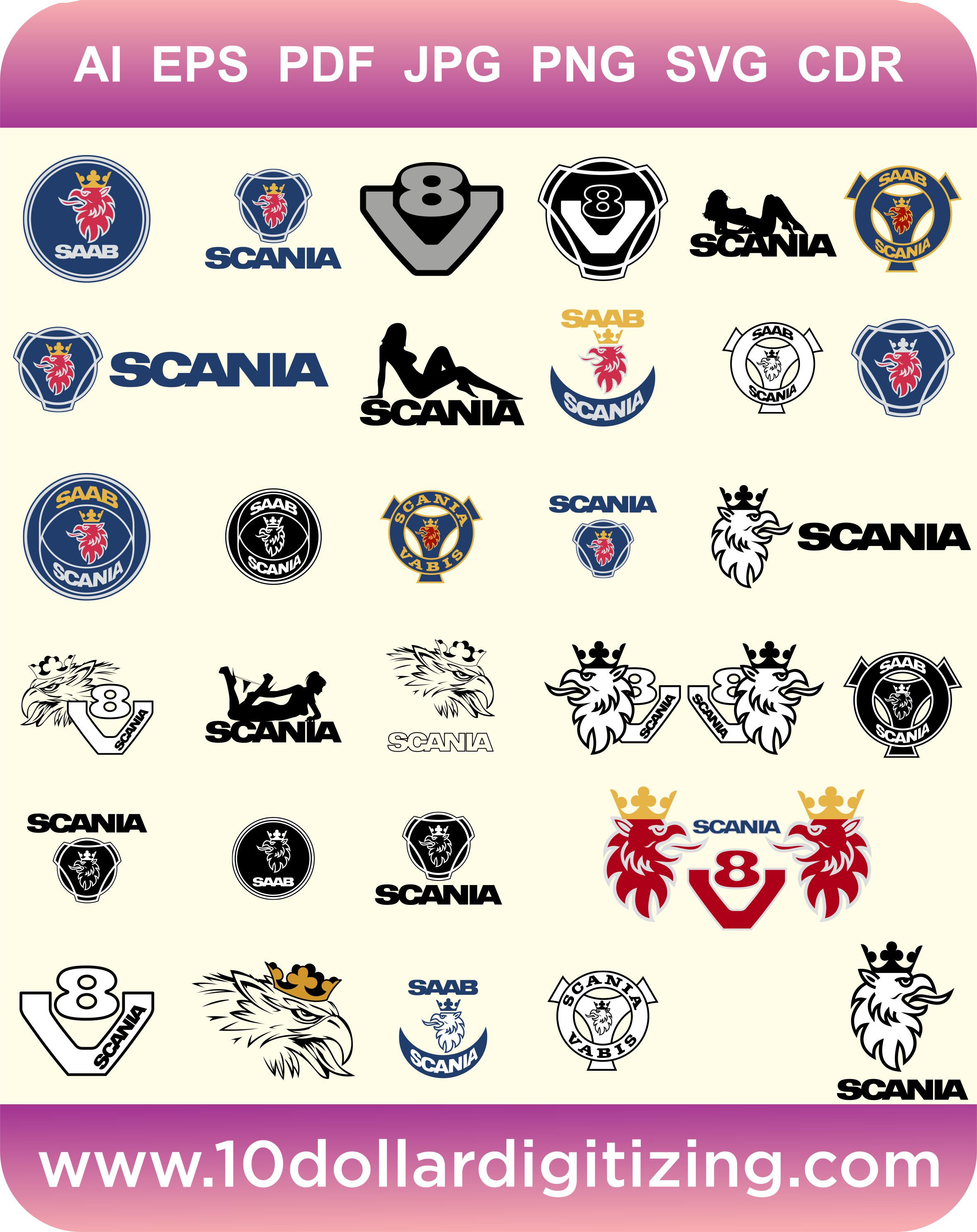 ????zoom - Scania Logo Eps PNG