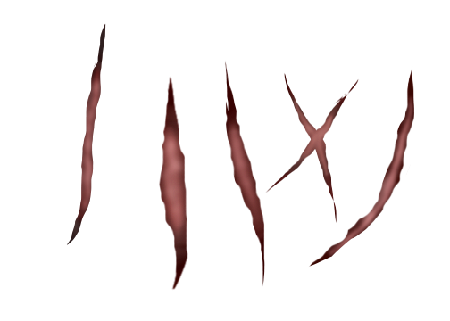 Feral Heart Scar Pack!! FREE!! by AzonZeCookieCrumbler PlusPng.com  - Scar HD PNG