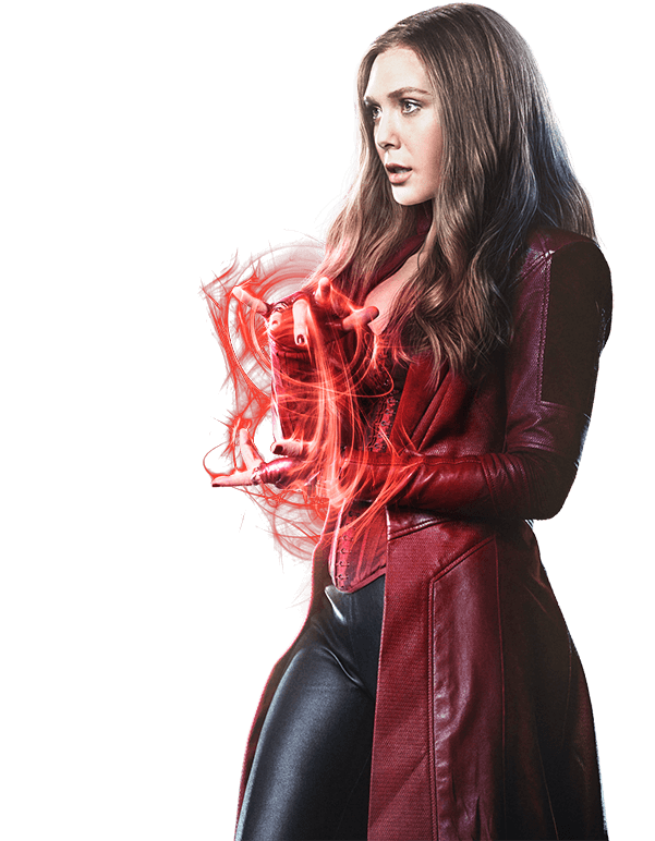 Scarlet Witch by cptcommunist PlusPng.com  - Scarletwitch HD PNG