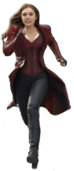 Scarlet Witch Civil War Transparent by ggreuz PlusPng.com  - Scarletwitch HD PNG