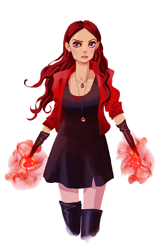 Scarlet Witch PNG HD - Scarletwitch HD PNG