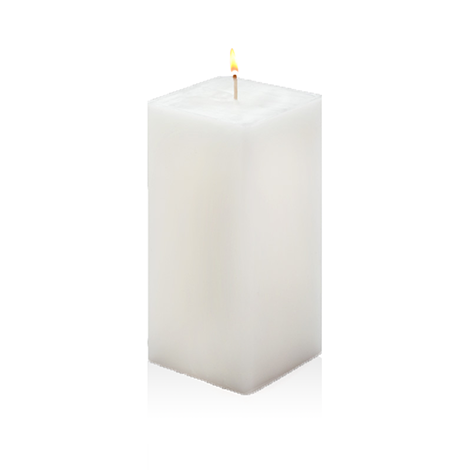 Scented Pillar Candles. Square Pillars - Church Candles PNG
