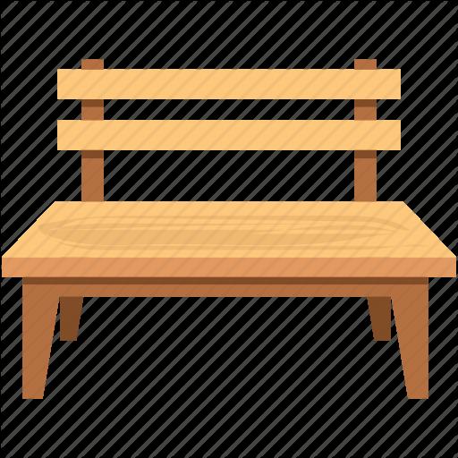 Bench, Garden Bench, Outdoor Furniture, Park Bench, School Bench Icon - School Bench PNG