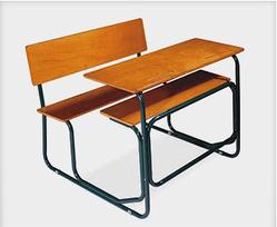 School Desk Bench - School Bench PNG
