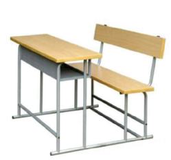 School Two Seater Bench - School Bench PNG