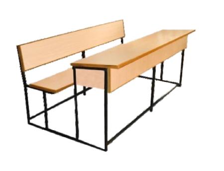 Wooden School Bench - School Bench PNG