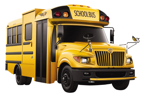 School Bus PNG Transparent Image - School Buses PNG