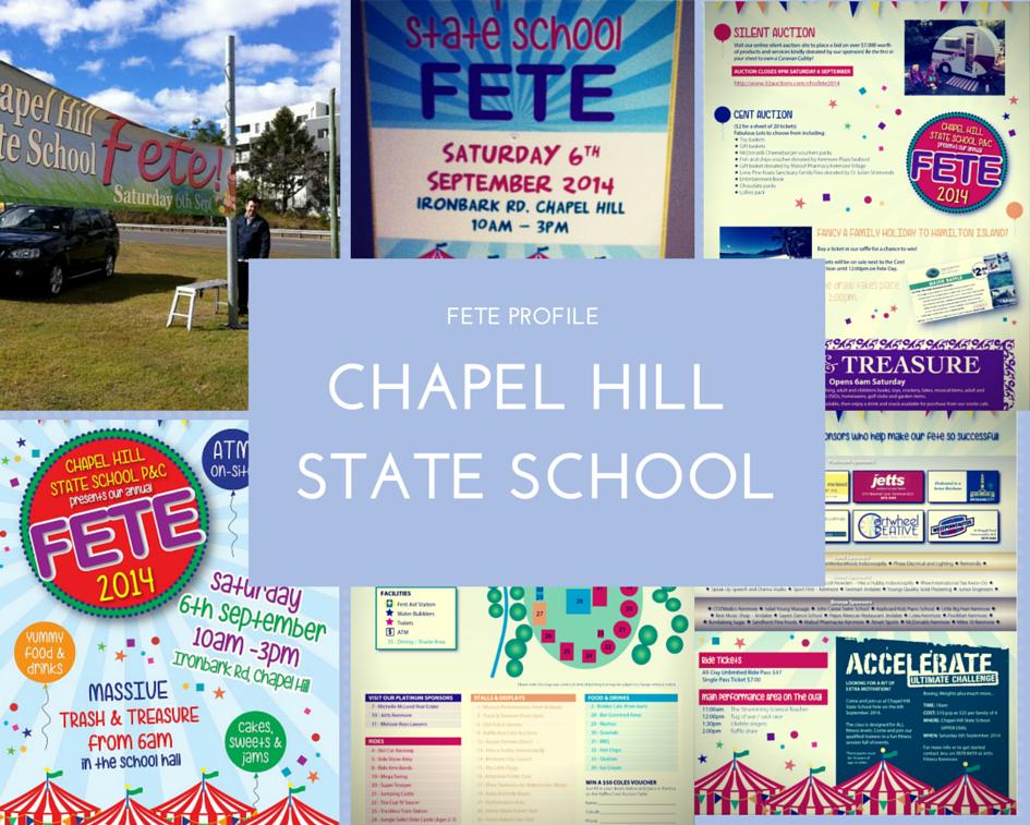 Chapel hill state school - School Fete PNG