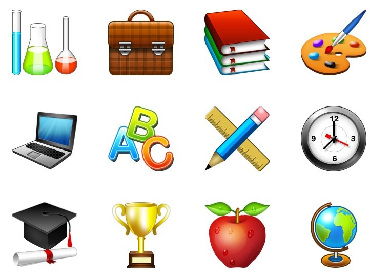 15 Education transparent PNG icon free download - School Related PNG Free