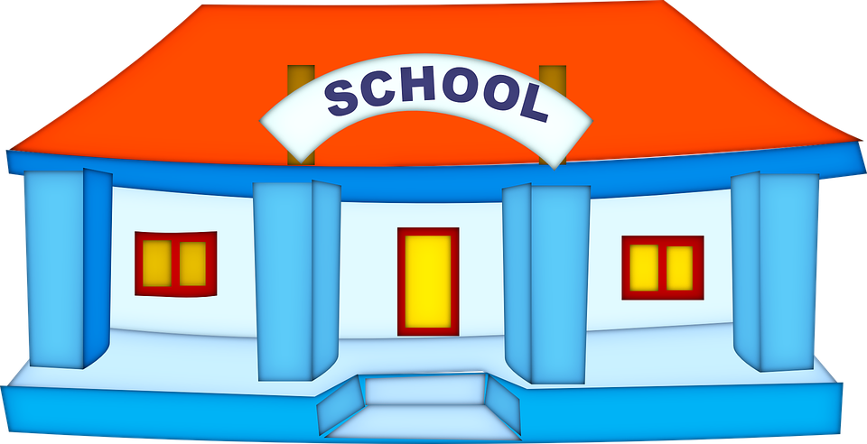 school building education property learning - School Related PNG Free