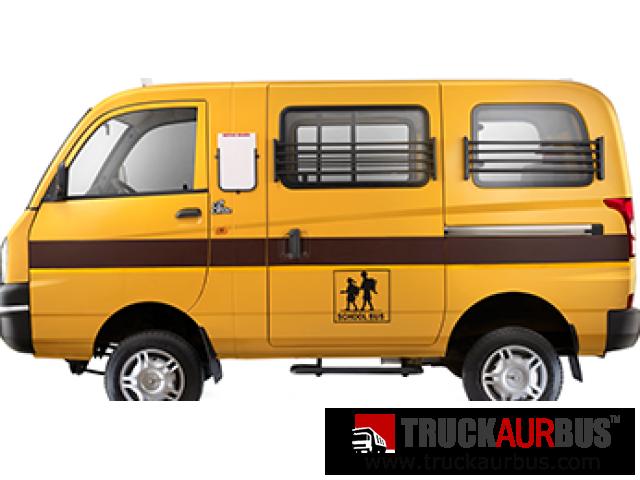 Mahindra Maxximo Mini Van VX School - School Van PNG