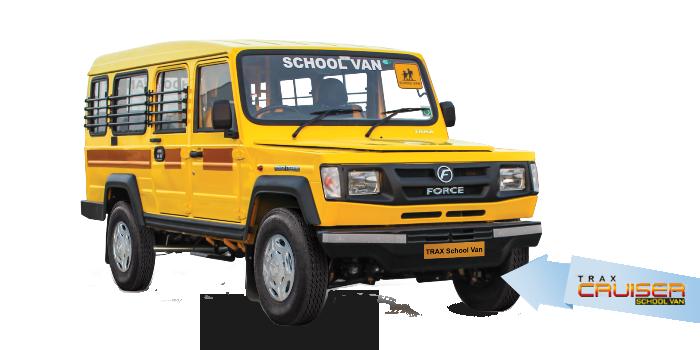 -Trax Cruiser School Van - School Van PNG