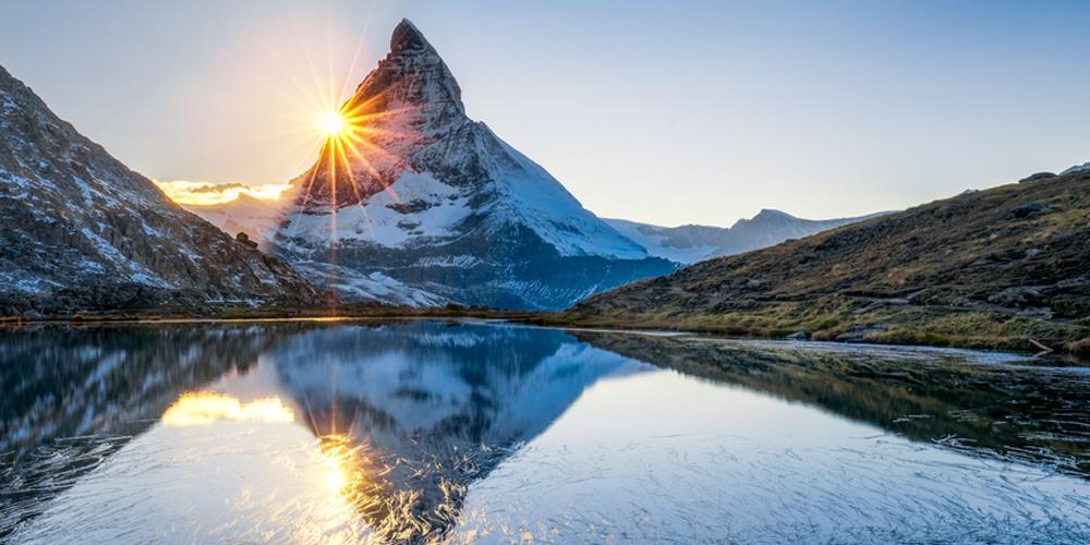 berg on der schweiz