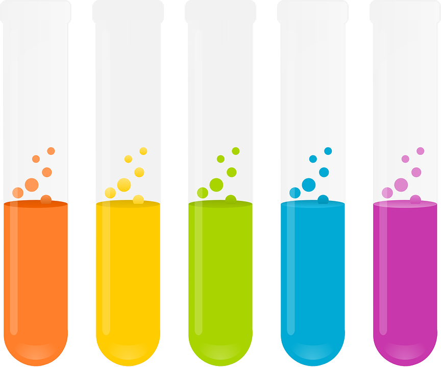 Test Tubes, Reagents, Chemistry, Experiment, Liquid - Science Test Tubes PNG