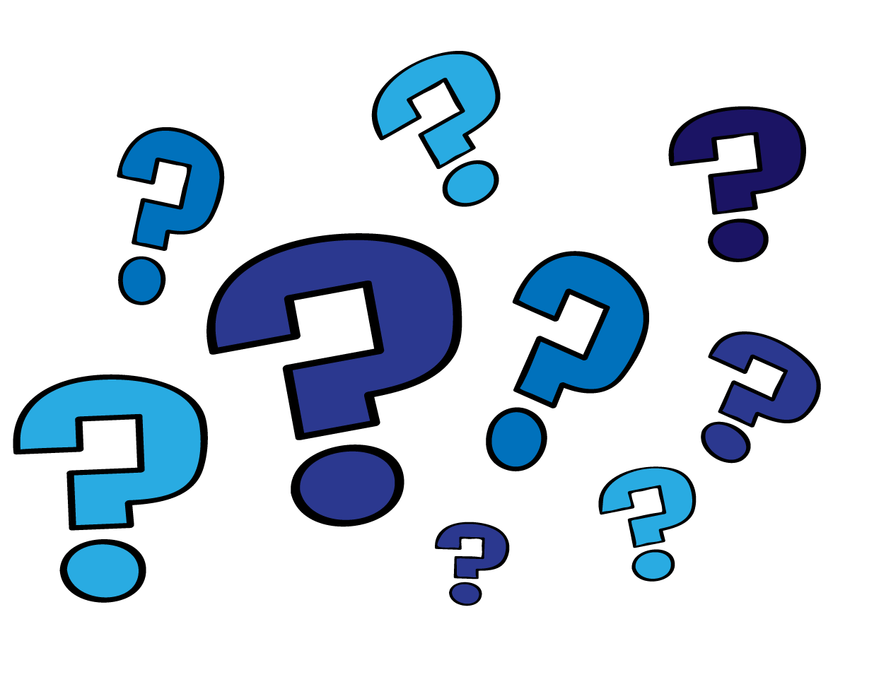 question marks - Scientist HD PNG