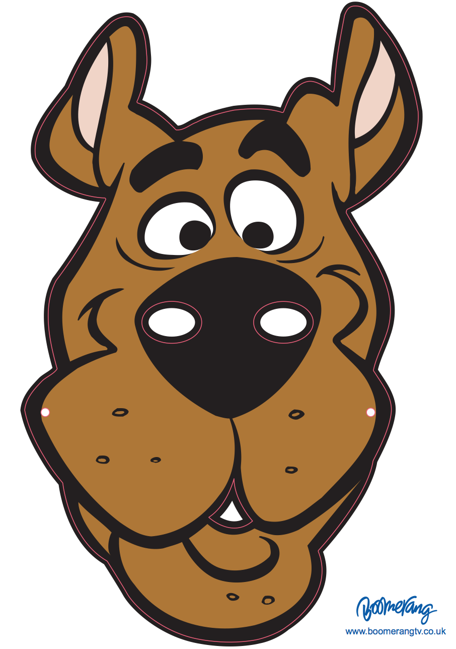 Scooby Doo Face PNG - 147634