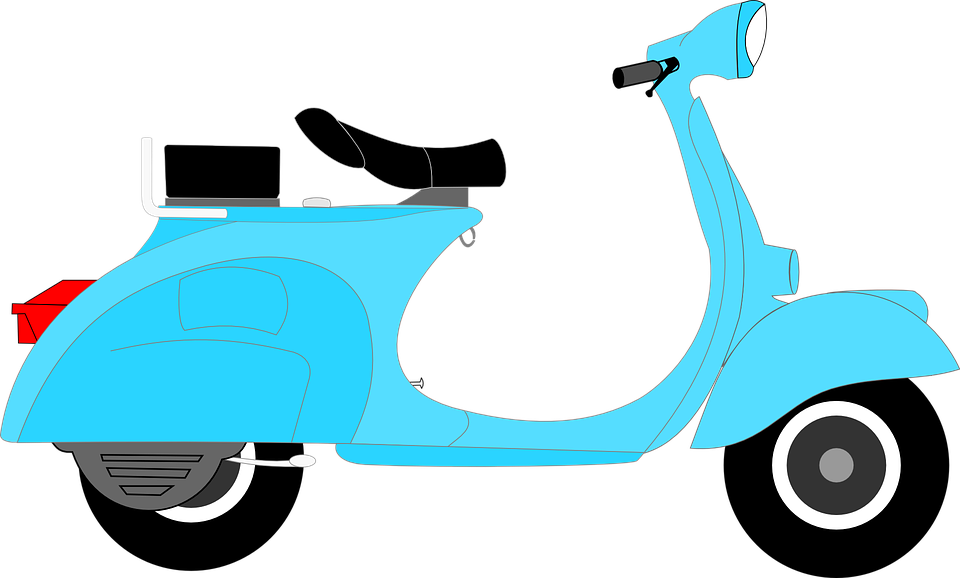 Scooter HD PNG - 120107