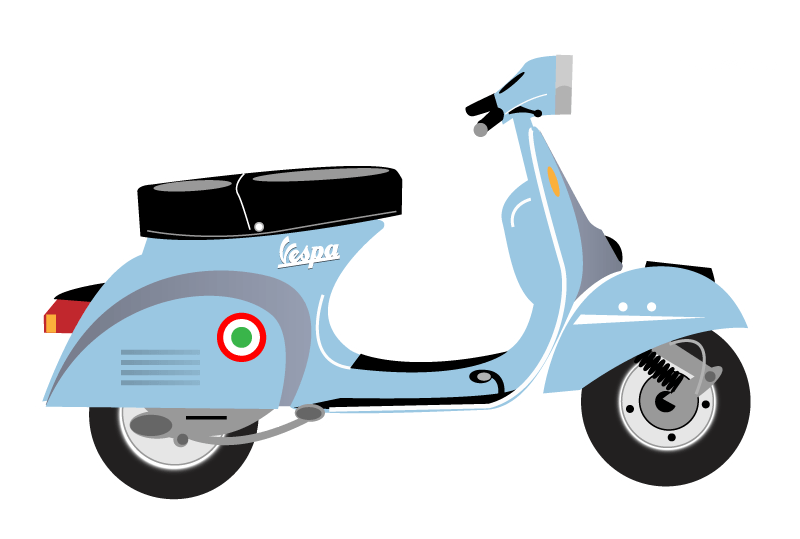 Scooter HD PNG - 120105
