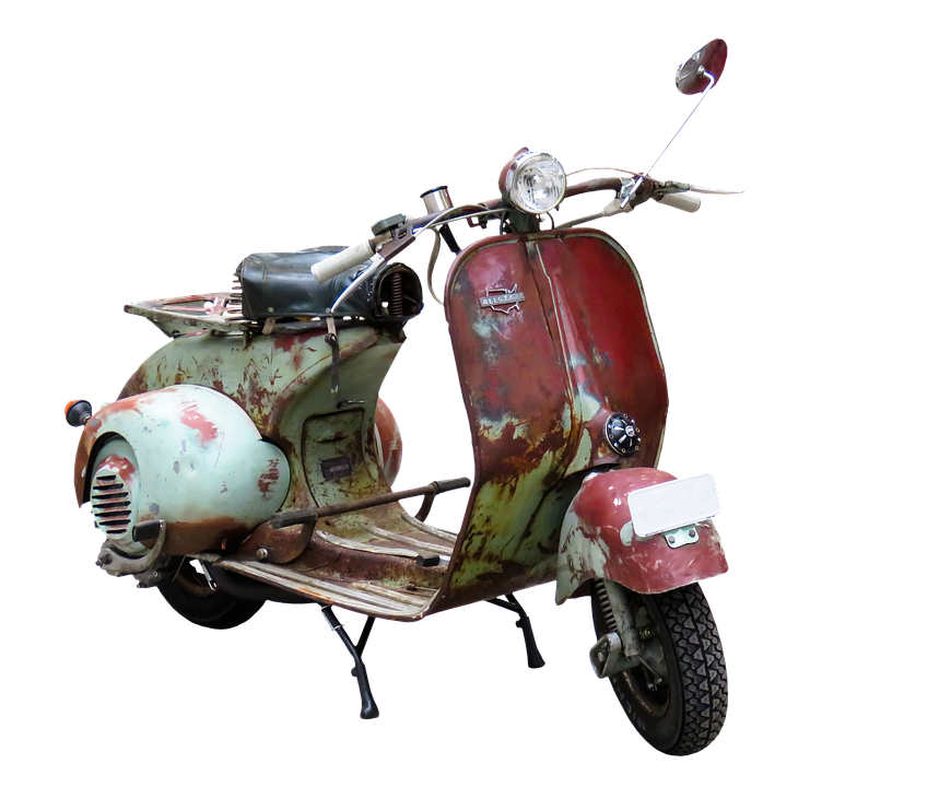 Scooter HD PNG - 120096