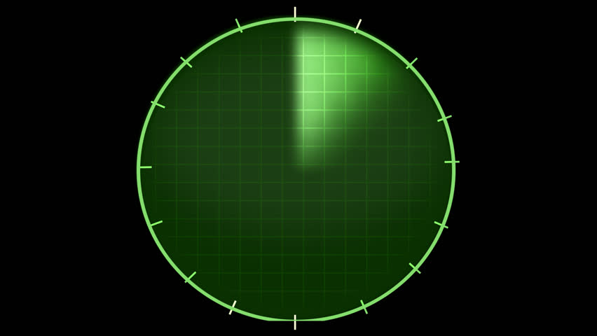 radar graphic, png alpha background - HD stock footage clip - Scope HD PNG