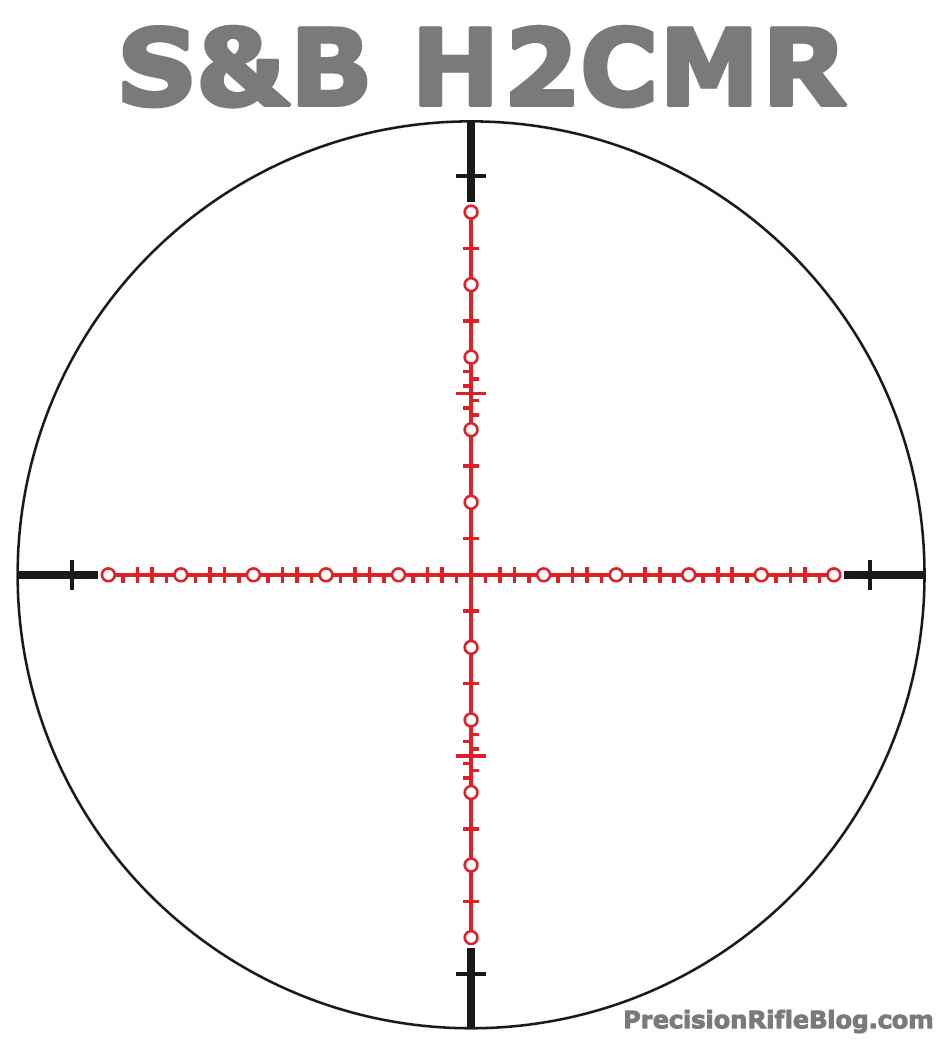 Schmidt and Bender H2CMR Scope Reticle PlusPng.com  - Scope HD PNG