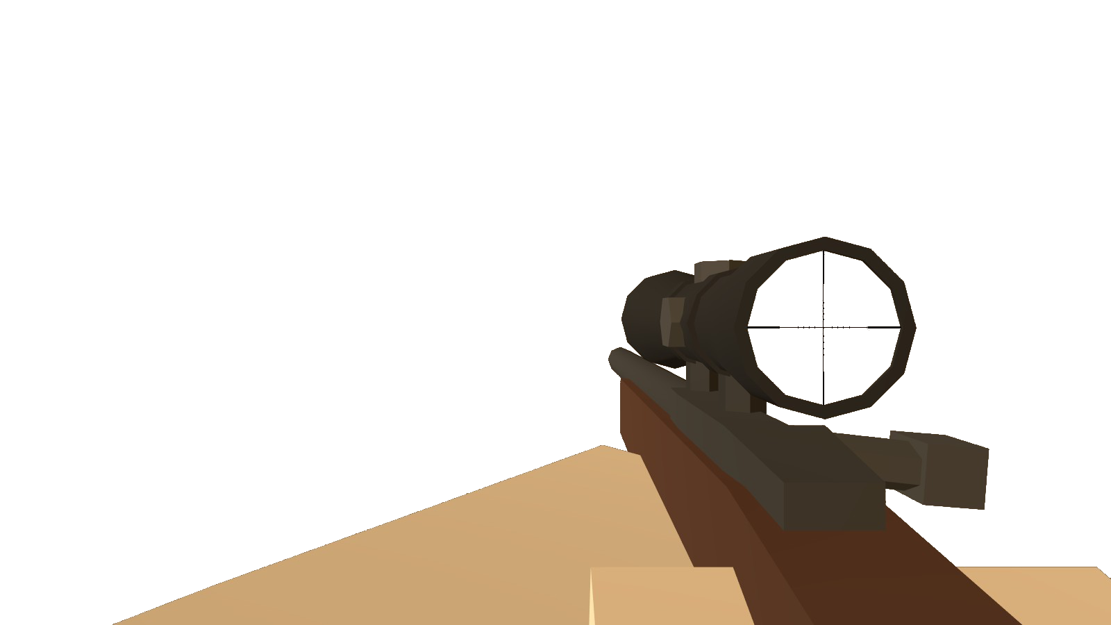 Schofield Sniper Scope.png - Scope HD PNG
