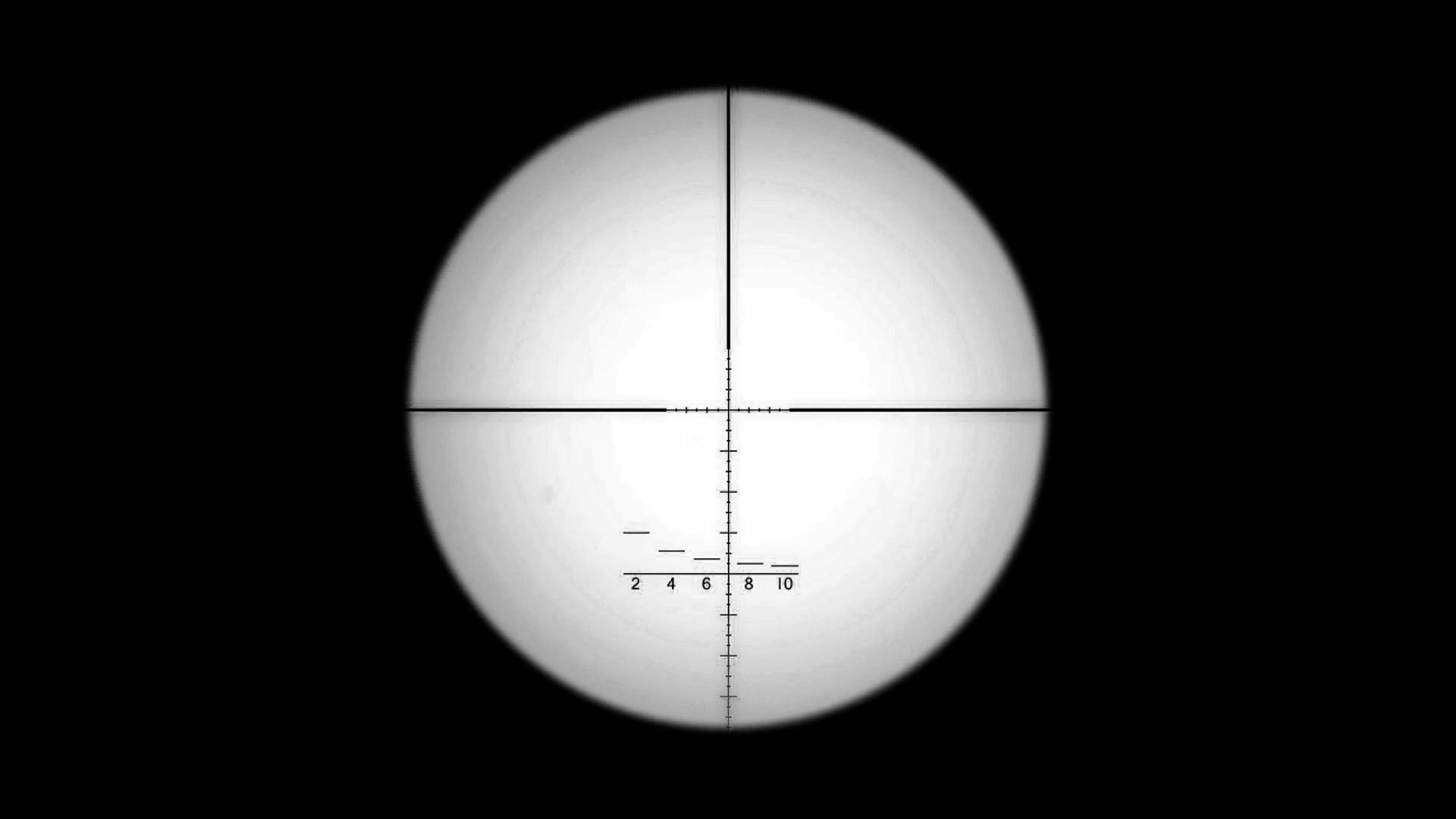 Sniper scope reticule.png - Scope HD PNG