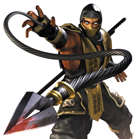Scorpion-Mortal-Kombat.png - Scorpion HD PNG