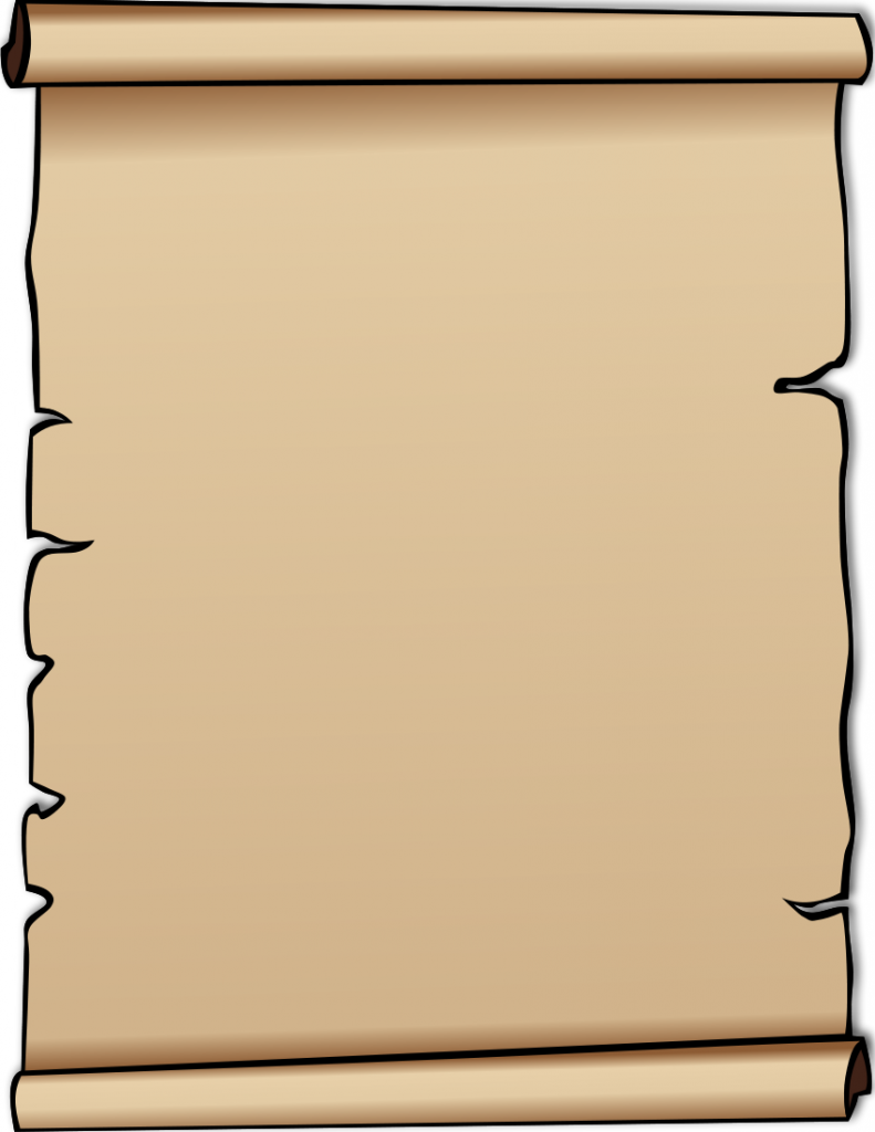Blank Scroll Clipart Top Hd Images For Free Image 0 2 - Scroll PNG HD