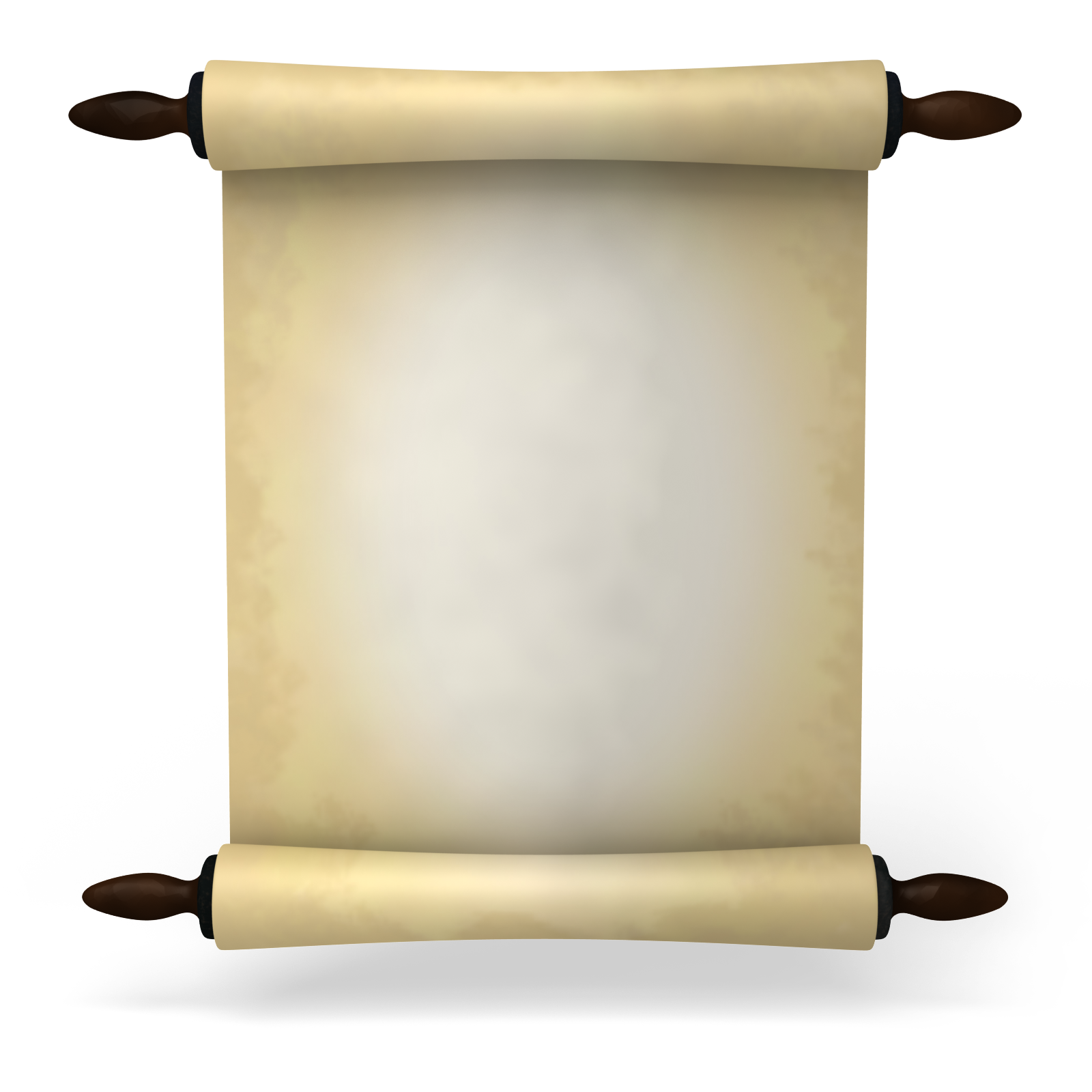 Old Paper Scroll Png image #2