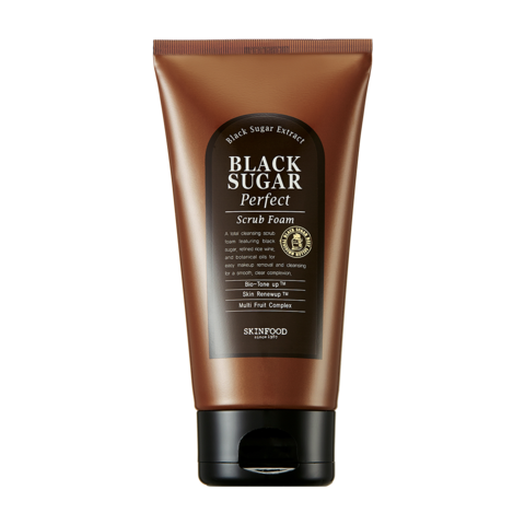 Black Sugar Perfect Scrub Foam - Scrubbing Foam PNG