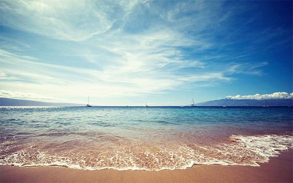 Mindblowing Beach background