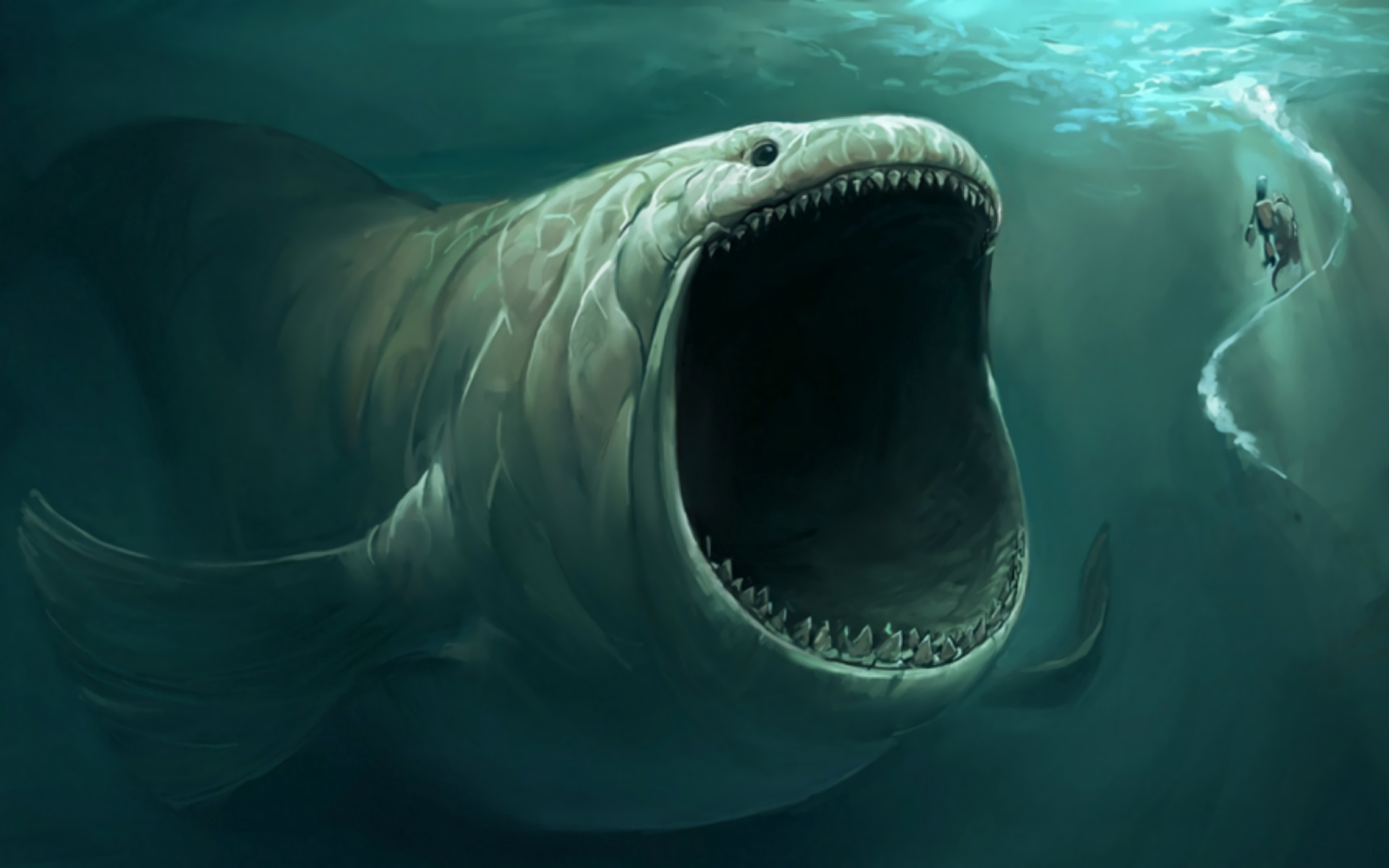 Sea Monster PNG HD