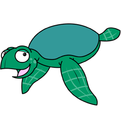 Sea Turtle Cartoon PNG - 145068