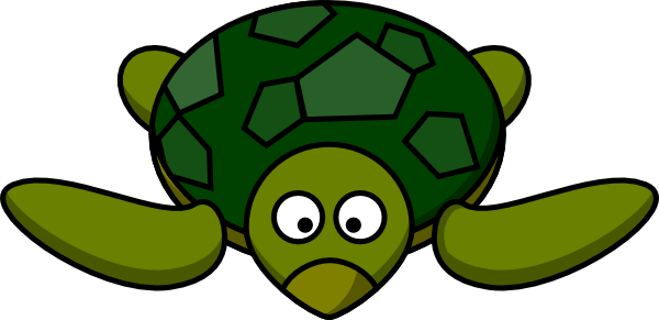 Download this image as: - Sea Turtle Cartoon PNG