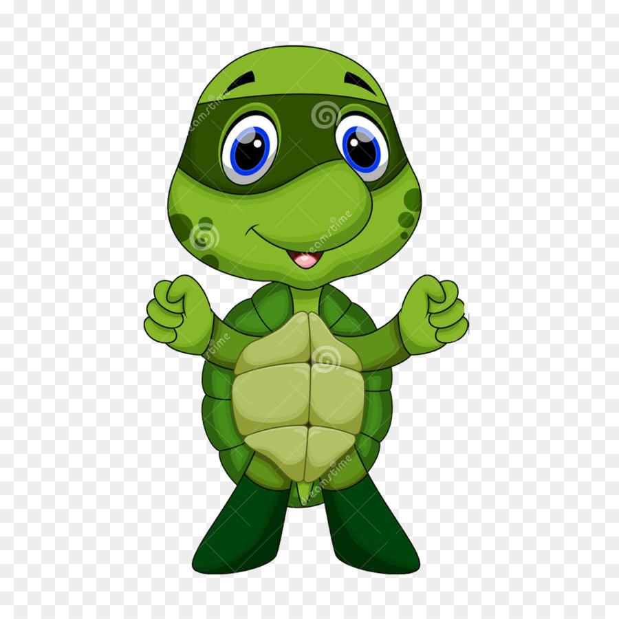 Turtle Cartoon Illustration - Teenage Mutant Ninja Turtles cartoon little  turtle - Sea Turtle Cartoon PNG