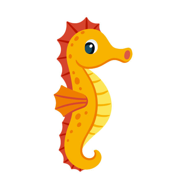 PNG File Name: Cute Seahorse PlusPng.com  - Seahorse PNG