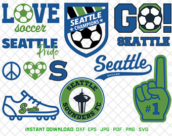Seattle Sounders Fc SVG, Logo Clipart, Seattle Sounders Fc Soccer, Clipart  Svg, - Seattle Sounders Fc Vector PNG