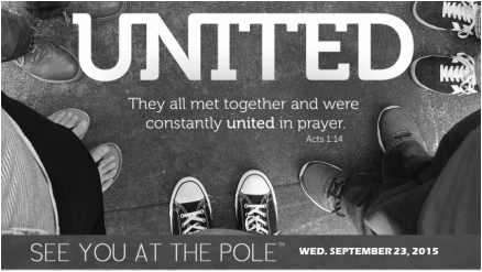 SEE YOU AT THE POLE day is on Wednesday, September 23, at 7:00 a.m. local  time. All around the globe, in every time zone, students will be gathering  at PlusPng.com  - See You At The Pole 2015 PNG
